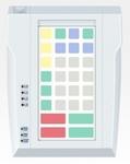 Pos клавиатура Posua LPOS-032P-M12- PC/2 белый