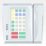 Pos клавиатура Posua LPOS-032-M02 -PC/2 Белый
