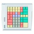 Pos клавиатура Posua LPOS-064P-Mxx - RS Белый