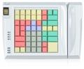 Pos клавиатура Posua LPOS-064FP-M12 - RS232 Белый