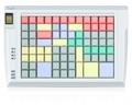 Pos клавиатура Posua LPOS-096FP-Mxx - RS232 Белый